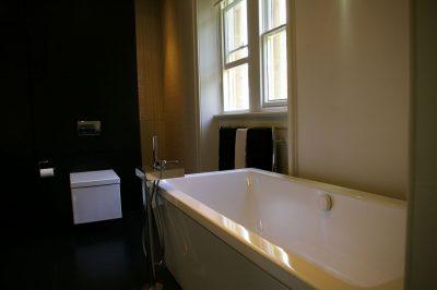 Elite West Ltd Window in a Bathroom