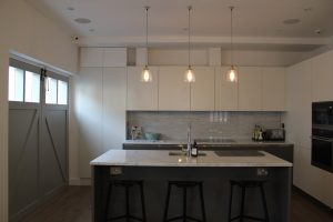 Elite West Ltd Kitchen Project with Isle