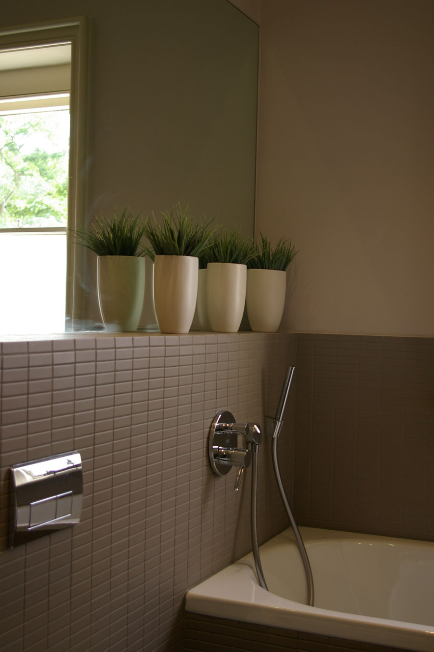 Elite West Ltd Plants in a Bathroom
